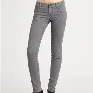 Vince Seamed Grey Legging Skinny Jeans Sz:28